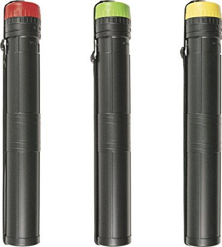 Brunnen 1047010 Transportrolle PP (für Zeichnungen und Plakate bis maximal A2, Rolle in schwarz mit rotem, grünen oder gelbem sortiertem Deckel, 1 Stück)