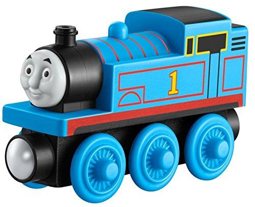 Mattel Fisher-Price Y4083 – Thomas und seine Freunde Holzlokomotive Thomas, klein