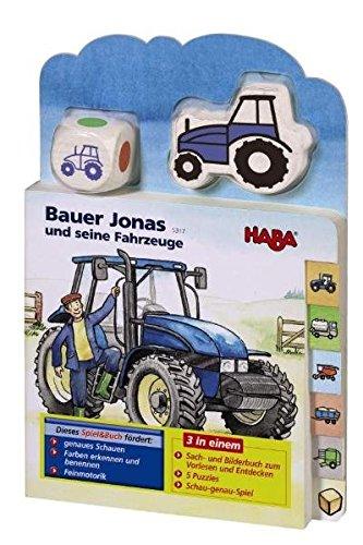 Bauer Jonas und seine Fahrzeuge (Spiel & Buch)