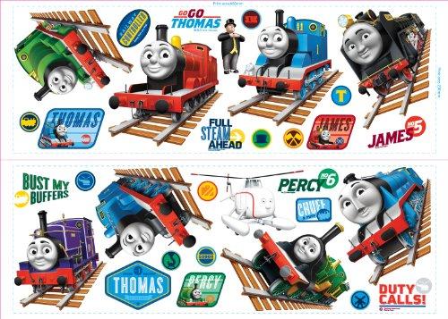 Fun4Walls CGI Thomas und seine Freunde Wiederverwendbare Wandsticker