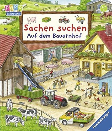 Sachen suchen: Auf dem Bauernhof – Wimmelbuch ab 2 Jahren