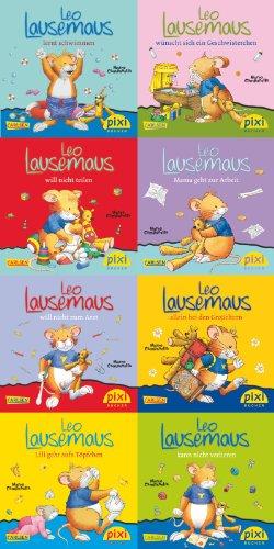Pixi-8er-Set 219: Leo Lausemaus (8x1 Exemplar)