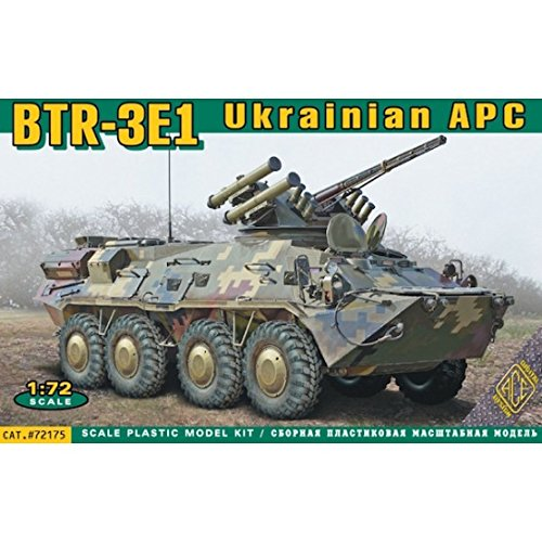 ACE ACE72175 - Modellbausatz BTR-3E1 Ukrainian armored personnel carrier