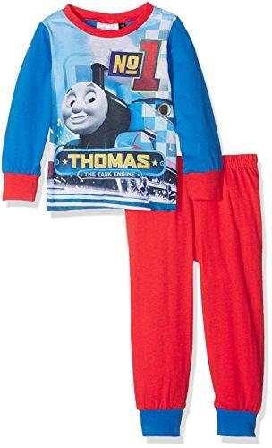 Thomas & Friends Jungen Zweiteiliger Schlafanzug Team Rot, 4-5 Jahre