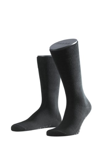 FALKE Men's Family Calf Socks 14645, Schwarz (black), Gr. 43-46