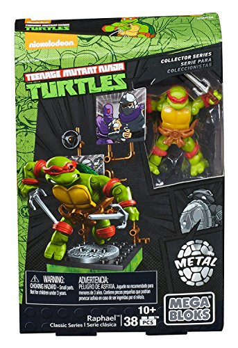 Mega Bloks – Teenage Mutant Ninja Turtles Collector Figure – Raphael (Dmw26)