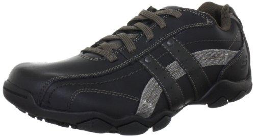 Skechers DiameterBlake, Herren Sneakers, Schwarz (Black), 42 EU