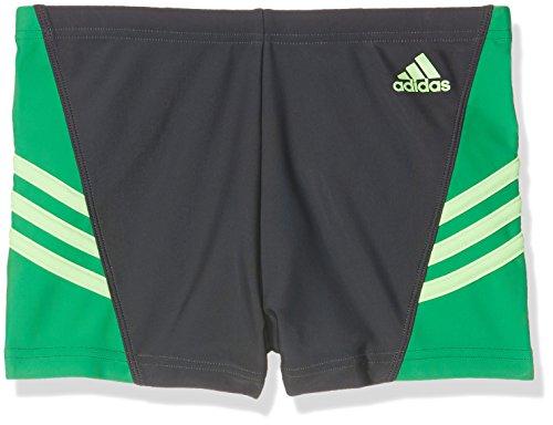 adidas Herren Inspiration Boxer-Badehose, Utility Black/Green/Unity Blue, 5