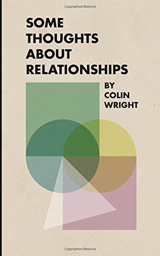 Some Thoughts About Relationships