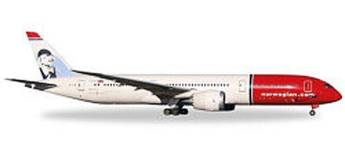 """Herpa 530170 """"Norwegian Boeing 787-9 Dreamliner – EI-LNI Greta Garbo"""" Miniaturfahrzeug"""