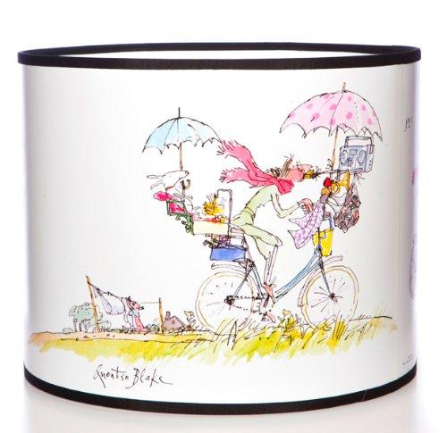 Quentin Blake Lampenschirm mit Illustrationen aus dem Buch 'Mrs Armitage on Wheels' von Quentin Blake