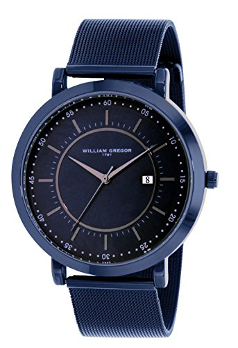 WILLIAM GREGOR Herren-Armbanduhr BWG10023G-508
