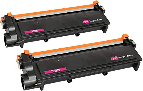 INK INSPIRATION® TN2320 2-er Pack Toner kompatibel für Brother HL-L2300D, HL-L2320D, HL-L2340DW, HL-L2360DN, HL-L2360DW, HL-L2365DW, HL-L2380DW, DCP-L2500D, DCP-L2520DW, DCP-L2540DN, DCP-L2560DW, MFC-L2700DW, MFC-L2720DW, MFC-L2740DW