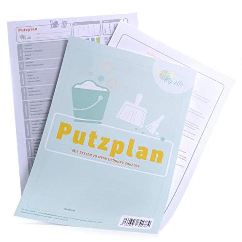 lib-elle 4260343841784 Putzplan für Familie - motivierende To-Do-Liste zur Hausarbeit
