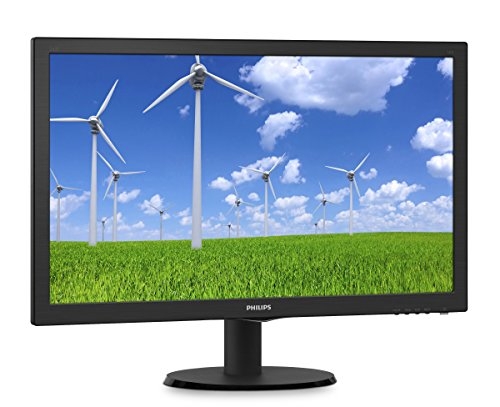 'Philips 243s5lsb 23,6 Klasse 23,63 TFT LCD Full HD-Noir/Monitor (1920 x 1080 Pixel LED TFT/LCD Full HD 1920 x 1080 (HD 1080) 10 00: 1)
