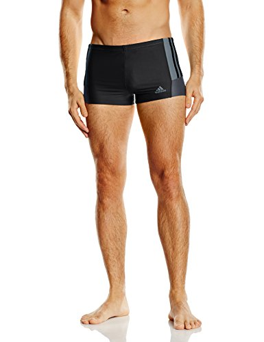 adidas Herren Badehose Infinitex Inspiration BX, Black/Dark Vista Grey, 4