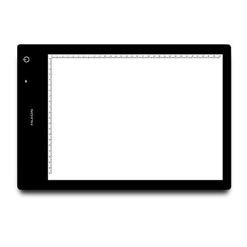 HUION LED Light Pad Schichten Zeichnung mit USB und LB4Lithium-Akku