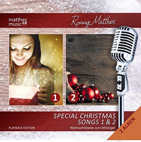 Special Christmas Songs (Vol. 1 & 2) – GEMA-freie Playback/Karaoke Edition – Die schönsten Weihnachtslieder (inkl. Textbooklet/Lyrics zum Mitsingen)