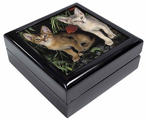 Advanta - Jewellery Boxes Abessinier Katzen von Mohn Andenken/Schmuck Box Weihnachten Geschenk