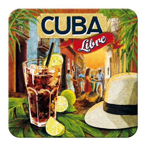 Nostalgic-Art 46126 Bier und Spirituosen Cuba Libre, Untersetzer