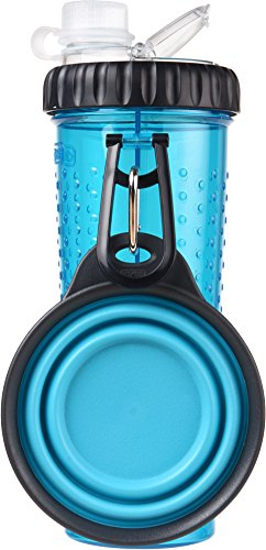 William Hunter Popware Snack Duo mit Travelcup - Blau
