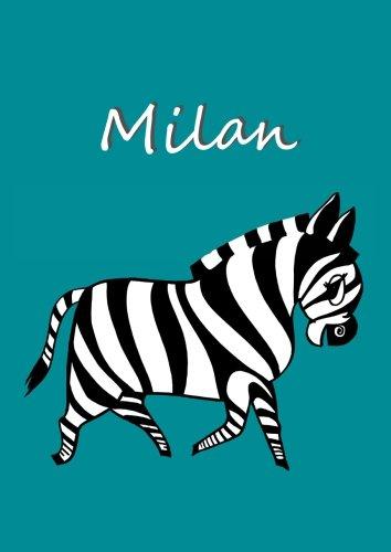 Malbuch / Notizbuch / Tagebuch - Milan: A4 - blanko