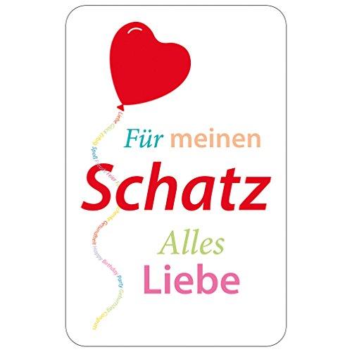 Susy Card Glückwunschkarte, Family And Friends, Schatz, 1 Stück in Folie