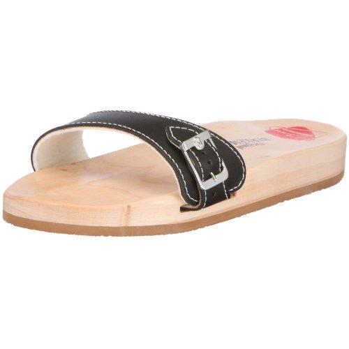 Berkemann Unisex-Erwachsene Original Sandale Pantoletten, (schwarz 900), 38 EU